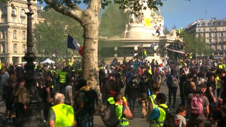 H10 france yellow vests protest notre dame donatation