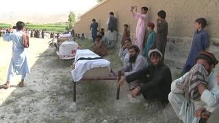 H7 afghanistan funeral us drone strike deaths farmers