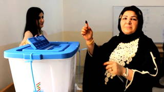 H08 kurdish election