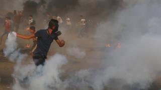 H9 gaza protest