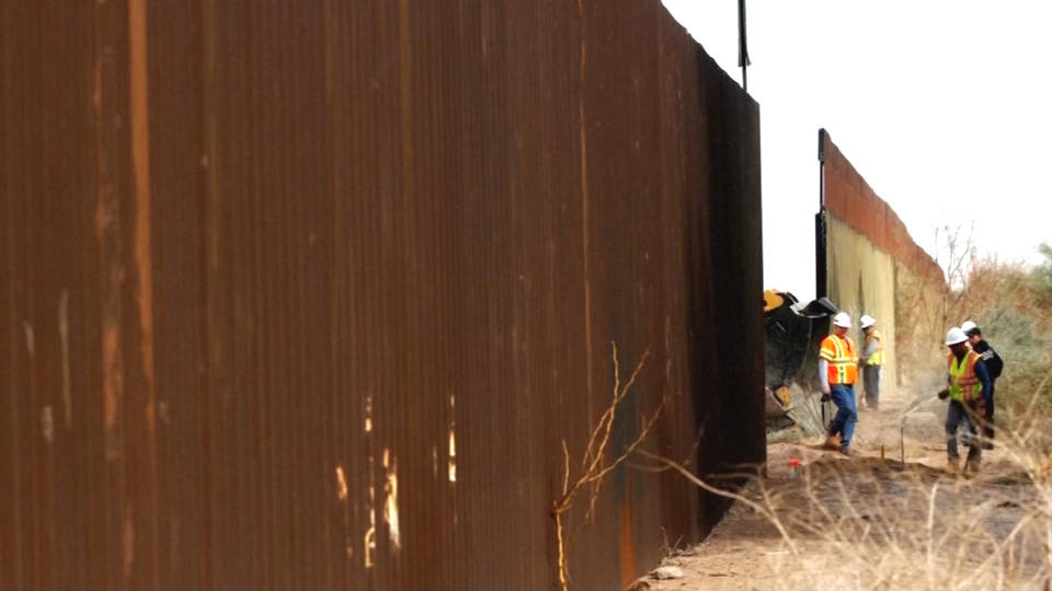 H4 border wall construction