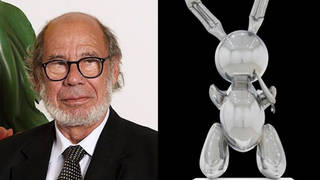 H11 robert mnuchin rabit sculpture