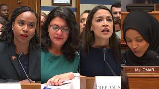 H3 trump attacks congresswomen ocasio cortez tlaib omar pressley twitter tweet