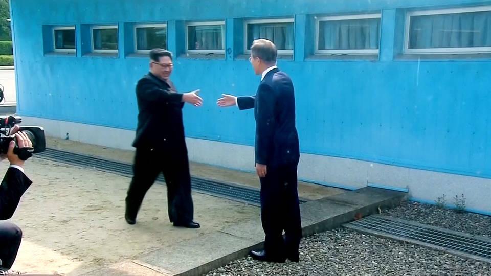 H1 koreas handshake
