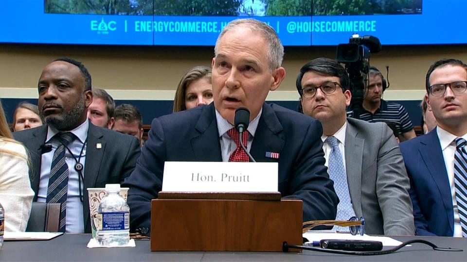 H2 pruitt scandal hearing