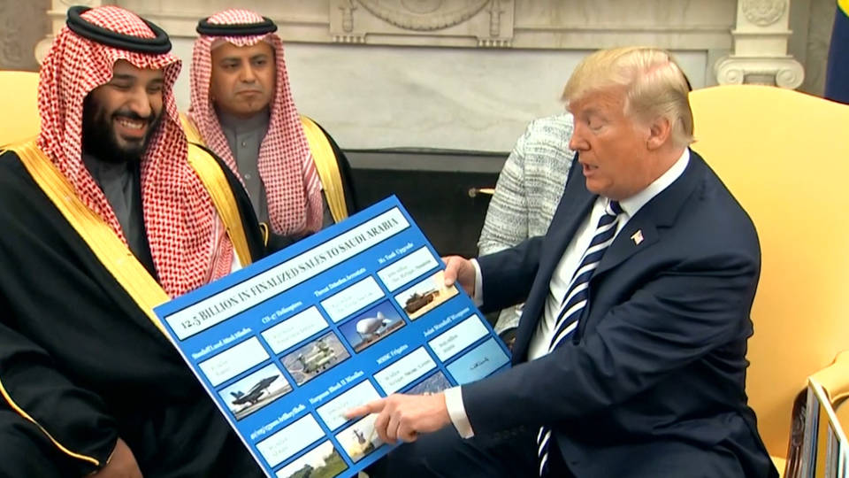 Trump vows 'severe punishment' if Saudis killed Jamal Khashoggi