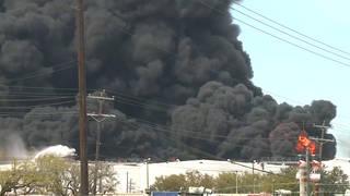 H13 petrochemical fire