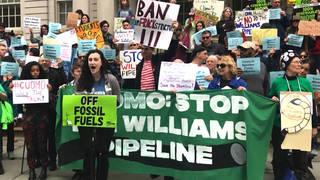 H13 williams pipeline blocked