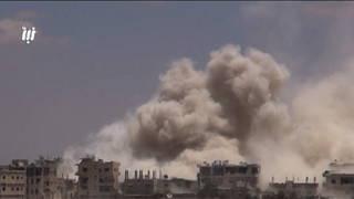 H9 deraa attack syria