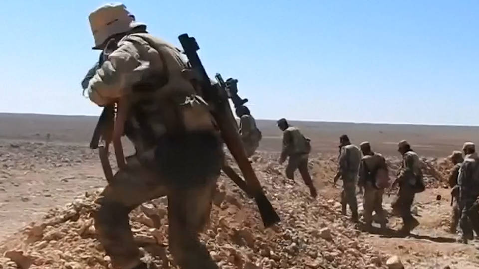 H4 syria daraa government offensive