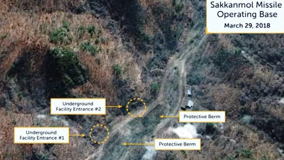 H9 north korea missile sites