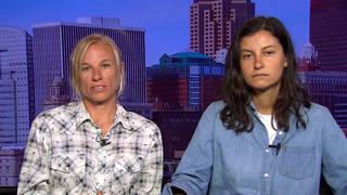 H15 iowa activists jessica resnicek ruby montoya dakota access pipeline arrest 2017 machinery fire prison