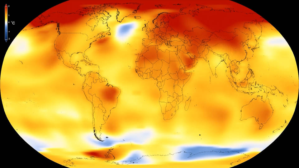 H12 hottest year on record