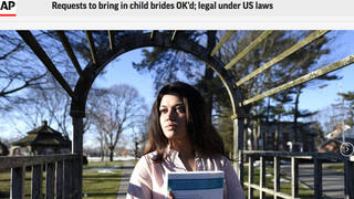 H14 ap child brides article screenshot