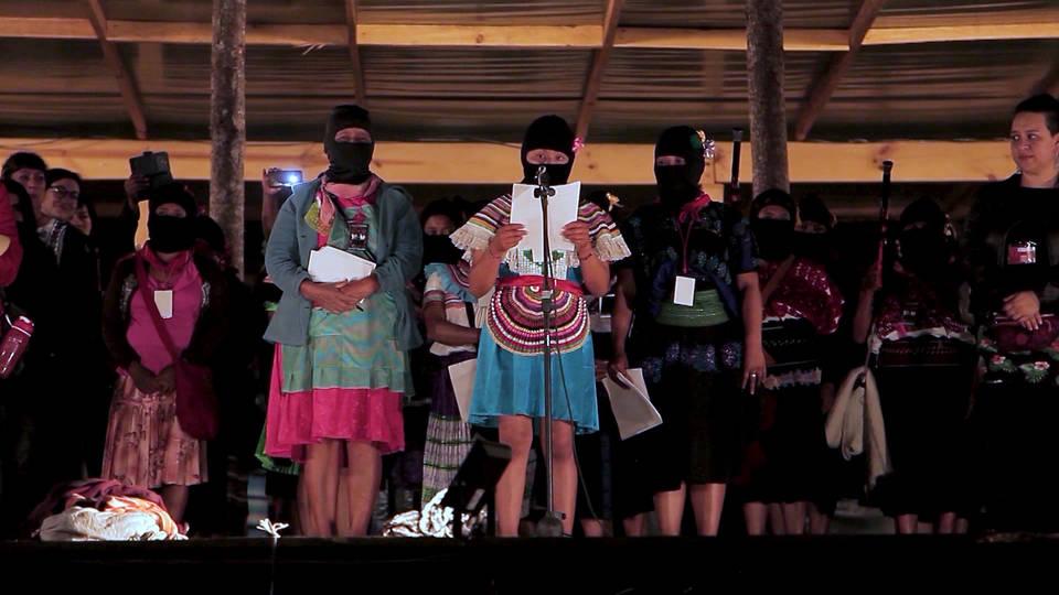 H13 zapatista women