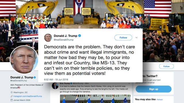 H4 trump tweet infest migrants