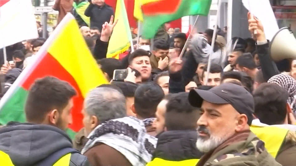 H9 protests afrin