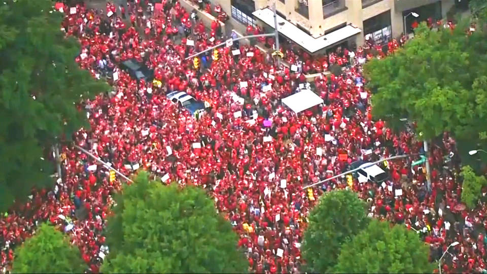 H14 north carolina teacher strike