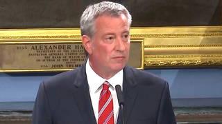 H17 bill deblasio new york city mayor democrat presidential candidate 2020 drops out