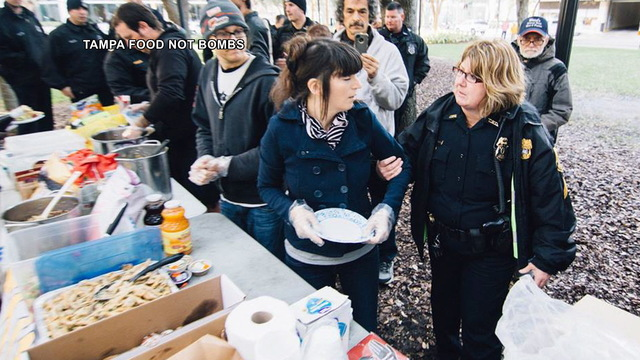 H12 food not bombs arrest