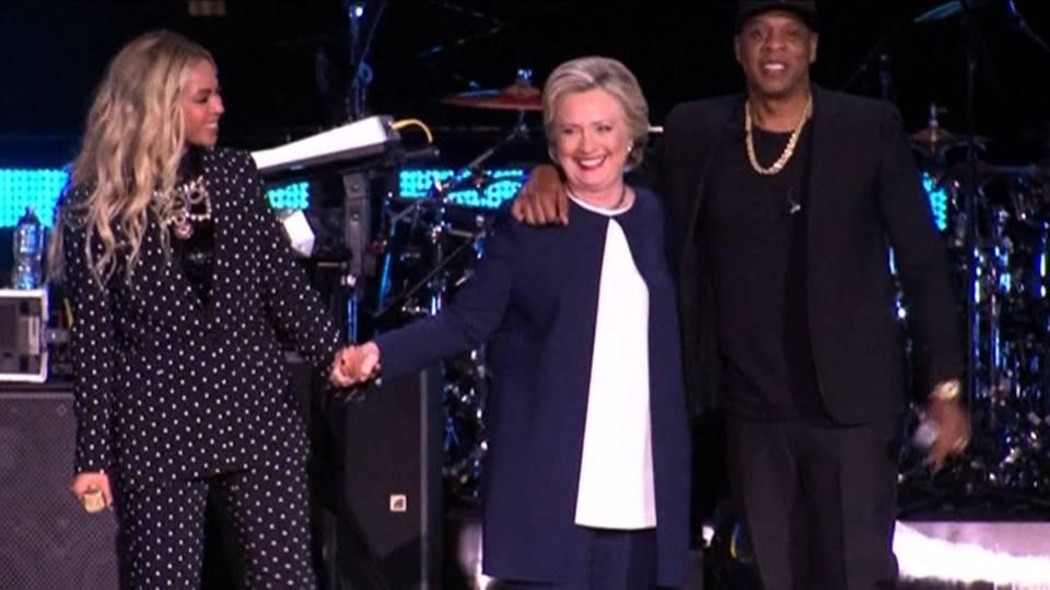 Clintons stars