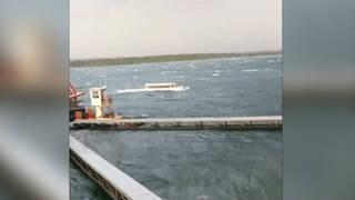 H9 boat capsizes winds missouri