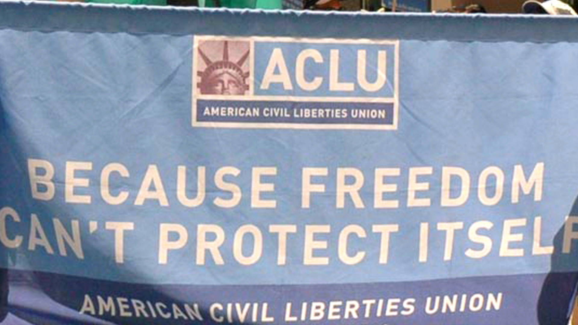 because freedom cant protect itself Clue: because freedom can't protect itself org we have 1 answer for the clue because freedom can't protect itself orgsee the results below possible answers: aclu related clues: rights defender, for short.