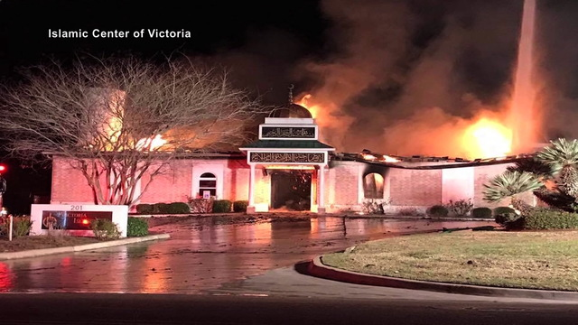 H08 mosque on fire