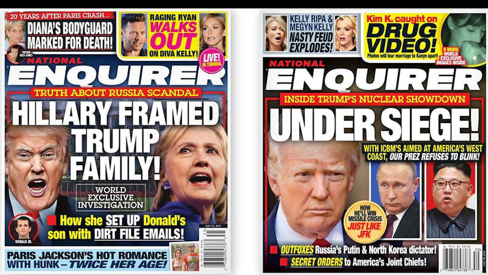 H8 national enquirer trump links
