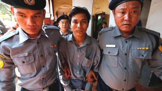 H6 burmese journalists arrest