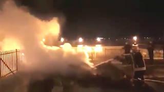 H2 jerusalem al aqsa mosque fire