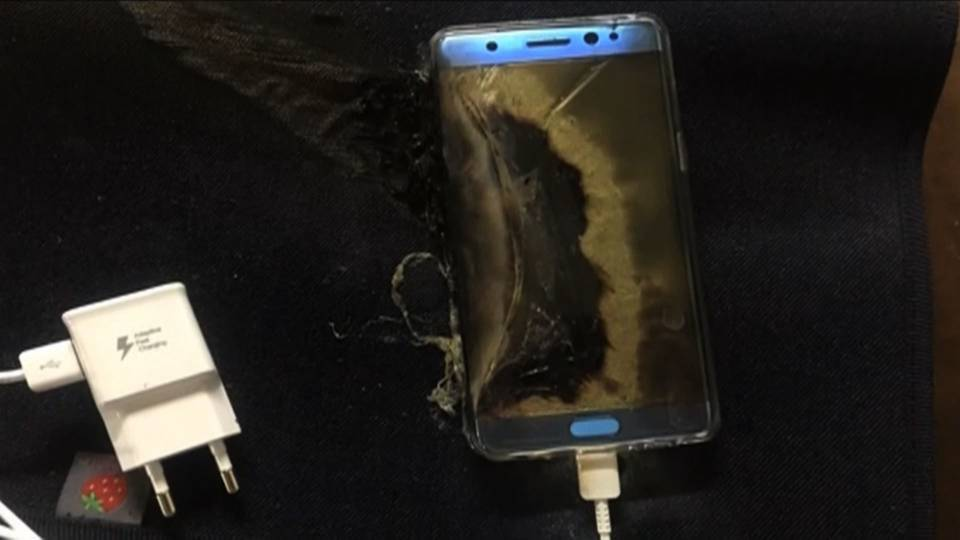 Note7 damage