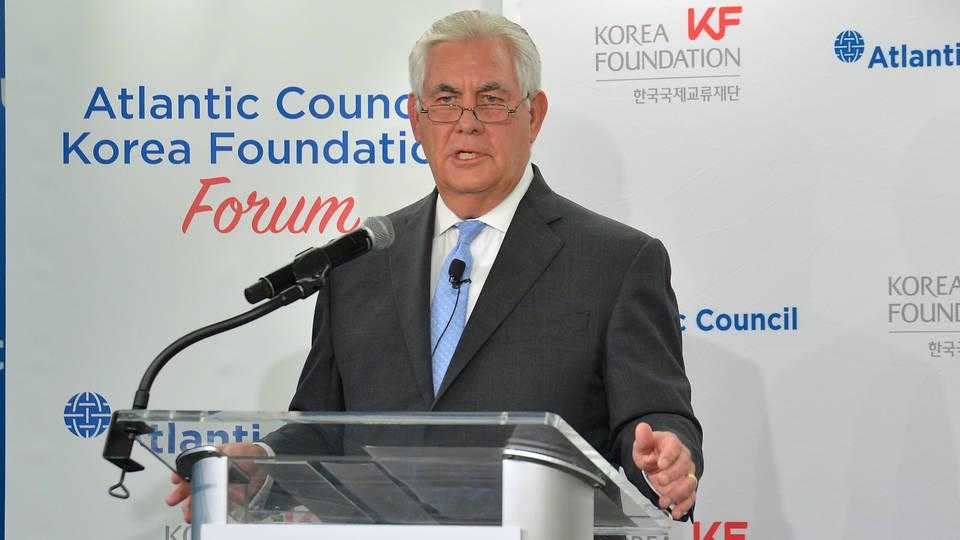 H2 tillerson korea