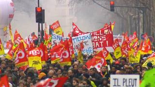 H7 french union strike