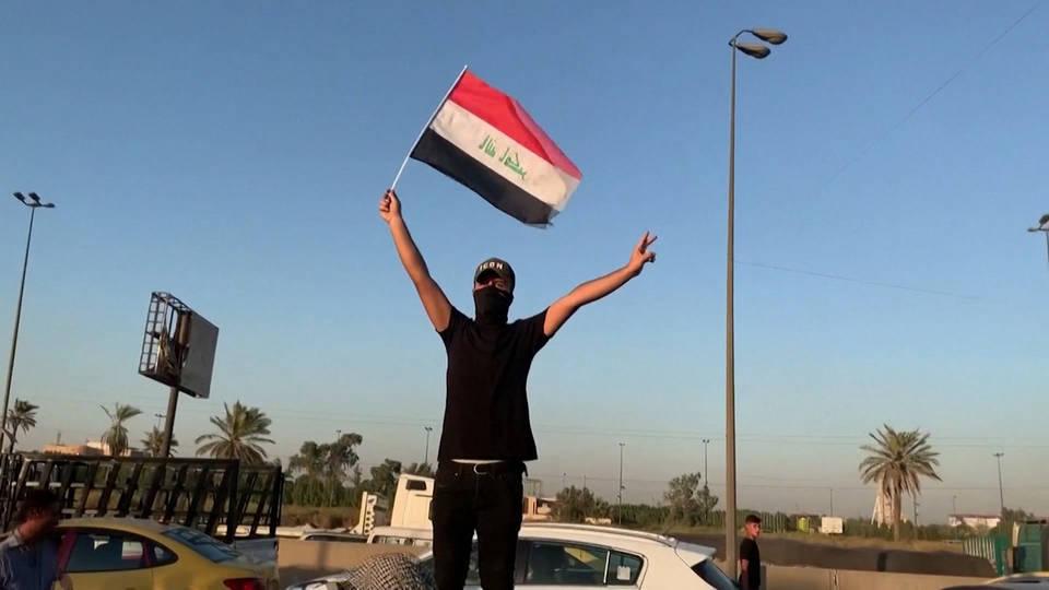 H2 iraq protest