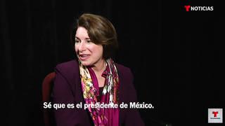 H3 senator klobuchar cant say name mexican president senator sanders calls out bloomberg campaign trail