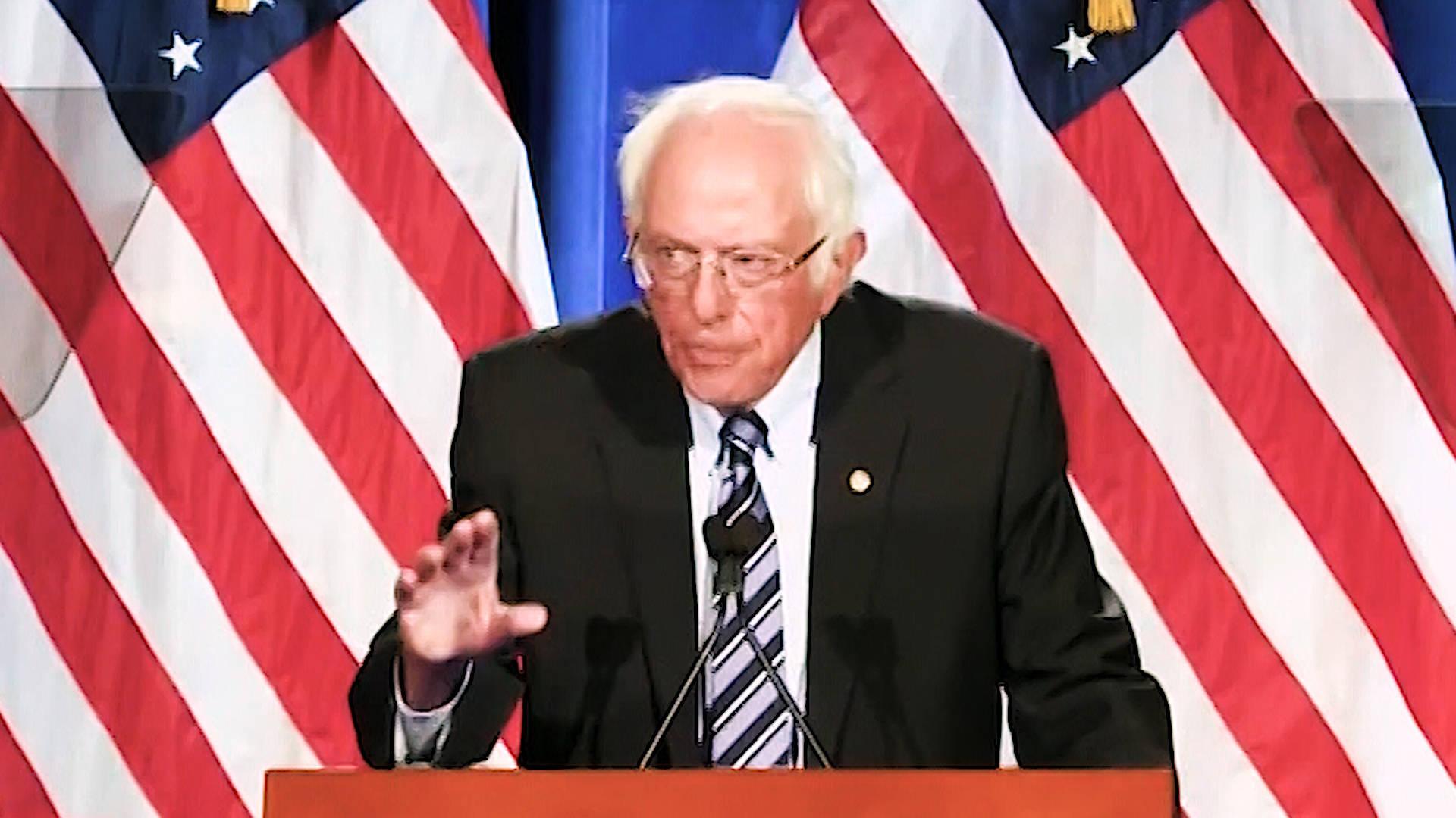 """Sen. Bernie Sanders Warns of an Election """"Between Donald Trump and Democracy"""""""