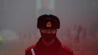 H13 china smog
