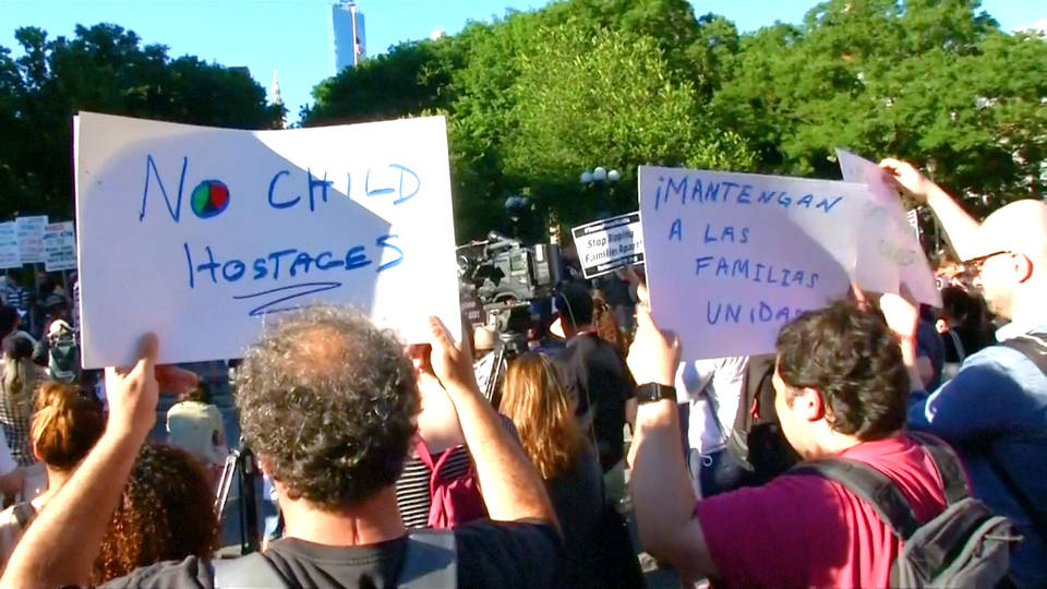 H9 protests against family separations