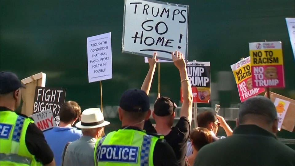 H1 trump uk protest1