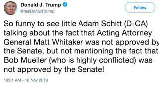 H12 trump schitt tweet