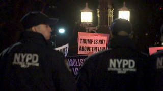H2 trump emergency protest nyc
