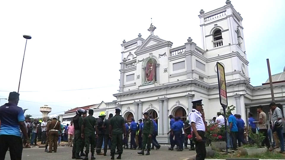H1 sri lanka church hotel bombings