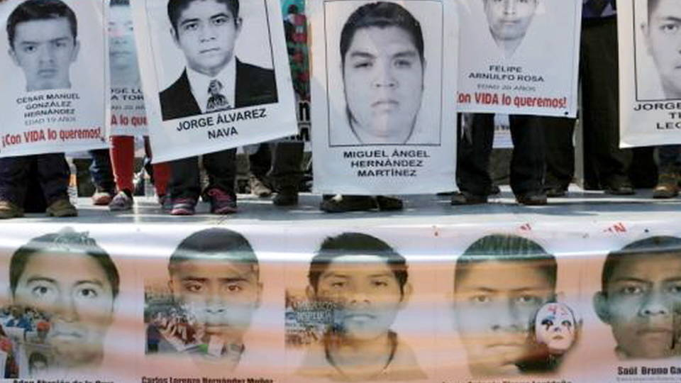 H13 ayotzinapa students