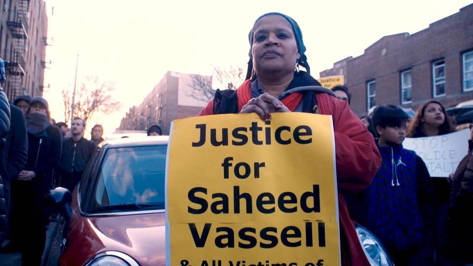 H10 brooklyn protest police shooting saheed vassell