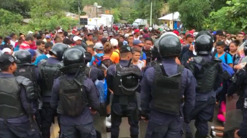 H6 hondurian migrants