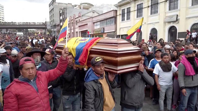 H8 ecuador protesters killed