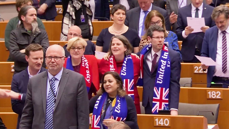 H4 britain formally withdrawing from european union tonight