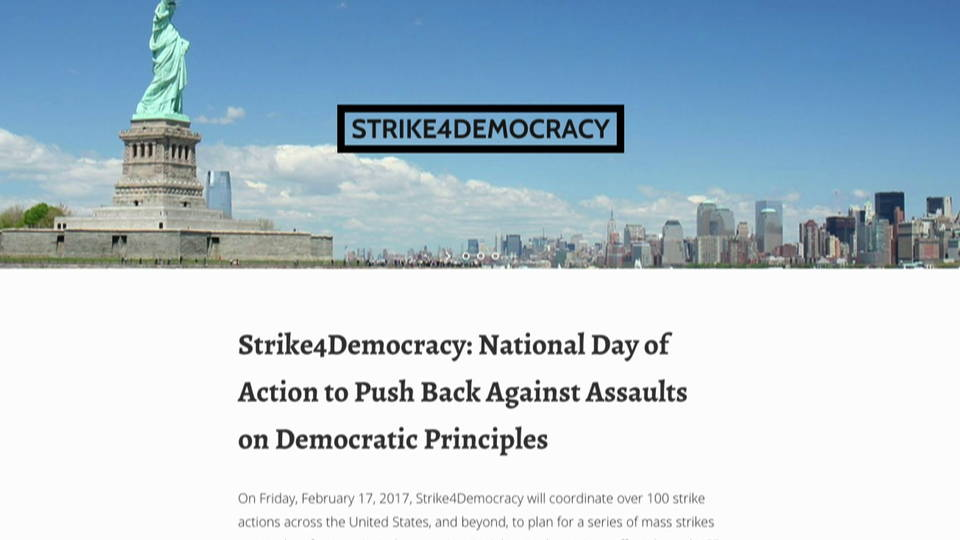 H05 strike for dem site