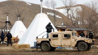 H01 north dakota camp police
